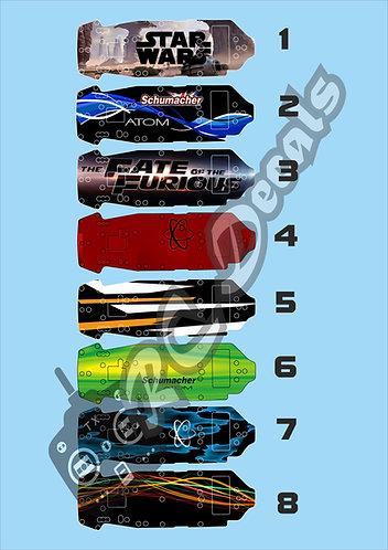 GT12 Schumacher Atom Chassis Skin