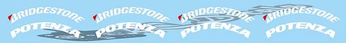 1/10 Bridgestone Tyre logo