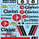 Thumbnail: 1/10 Decal Rally Set MG 6R4 Clarion 1998