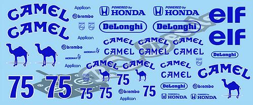 1/10 Mini Decal Set - Camel Set