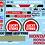 Thumbnail: F1 1/10 Decal Set BAR Honda 007 2005 - Choice of tyre logo
