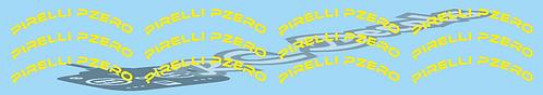1/10 Pirelli Pzero logo