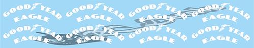 1/14 Truck Goodyear  Tyre Decals