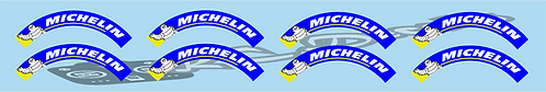 1/10 F1 Michelin Tyre Logo choice of colours