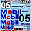 Thumbnail: 1/10 Touring Car Decal Sticker Set BTCC Ford Sierra Cosworth - Brock RS500 1989