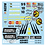 Thumbnail: F1 1/10 Decal Jordan Benson & Hedges 1998  - Choice of tyre logo