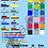 Thumbnail: Name Stickers with Flags