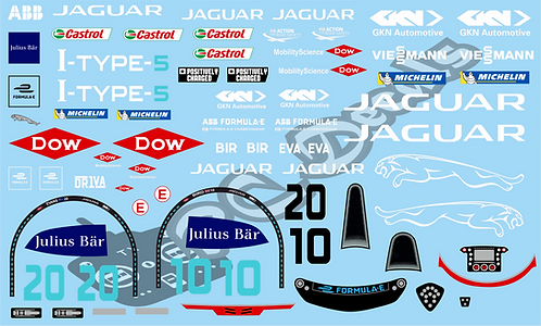 Formula -E Jaguar Racing Jaguar I-Type 5