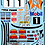 Thumbnail: 1/10 Decal Rally Set Ford Escort Cosworth - Tiger Stripe - Orange
