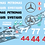 Thumbnail: F1 1/10 Decal Set Mercedes W09 2018 - Choice of tyre logo