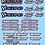 Thumbnail: Yokomo- Savox - Hobbywing - Reedy - Scorpion Decals Choice of Colours Available