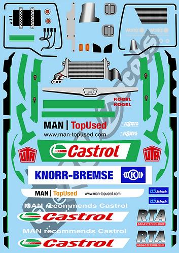 1/14 Hahn Castrol Racing Truck