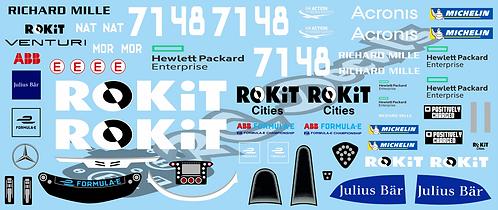 Formula -E ROKiT Venturi Racing Mercedes-Benz EQ Silver Arrow 02