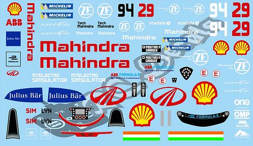 Formula -E Mahindra Racing Mahindra M7 Electro