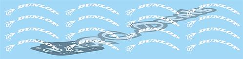 1/14 Truck Dunlop Tyre Decals