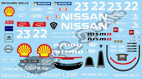 Formula -E Nissan e.dams Nissan IM02
