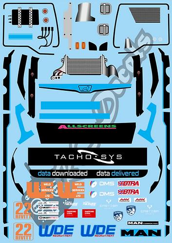 1/14 Team Tacho Sys Racing Truck
