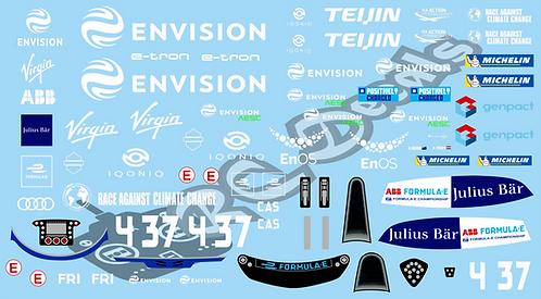 Formula -E Envision Virgin Racing Audi e tron FE07