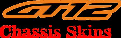 RC GT12 Chasis Skins Decals Stickers - Zen Racing RXGT12 - Schumacher Atom