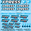 Thumbnail: Xpress - XM1 - Sweep - Factory Pro Decals Choice of Colour