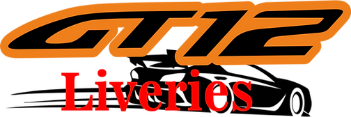 RC GT12 Liveries Decals Stickers