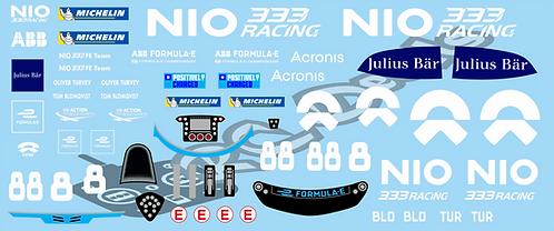 Formula -E NIO 333 FE Team NIO 333 001