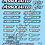 Thumbnail: Associated - SRT - Hobbywing - Reedy - LRP Decals Choice of Colour