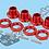 Thumbnail: 1/8 Alloy 17mm Wheel Hex Hub & Nut