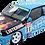 Thumbnail: 1/10 Touring Car Decal Set BTCC BMW E30 Securicor Omega