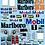 Thumbnail: 1/10 GT Decal Set Toyota Supra Marlboro 1995