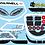 Thumbnail: Phat 300R MTC/ Mini Window Frame & Lights Customise
