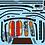 Thumbnail: 1/10 Touring Car Decal Sticker Set JTCC Nissan Primera - Calsonic 1994