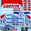 Thumbnail: 1/10 Touring Car Decal Set Nissan Skyline GTR Loctite 1995