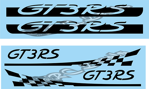 1/10 Porsche RS Decals