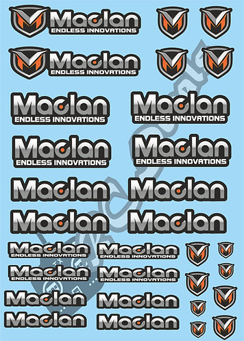Maclan Decals Choice of Colours Available
