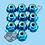 Thumbnail: M3 Nylon Lock Flanged Nuts