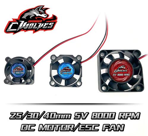 G Wolves 25x25mm 8000 RPM ESC / Motor Fan