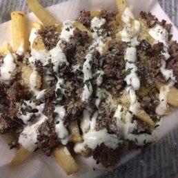 parmeasan garlic steak fries the zodiac food grill