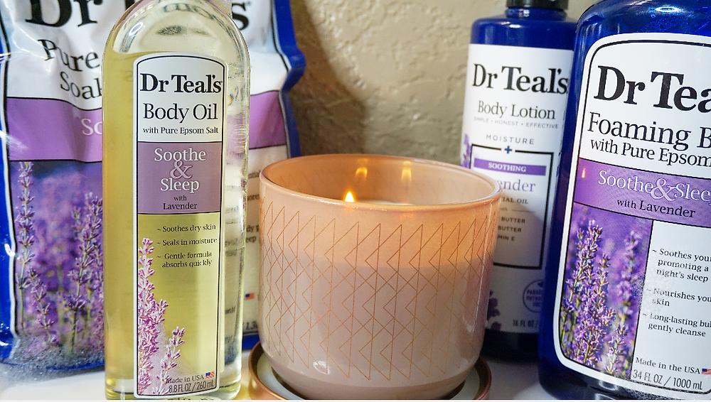 Dr Teal's Lavender unveiling naava tifarah naava