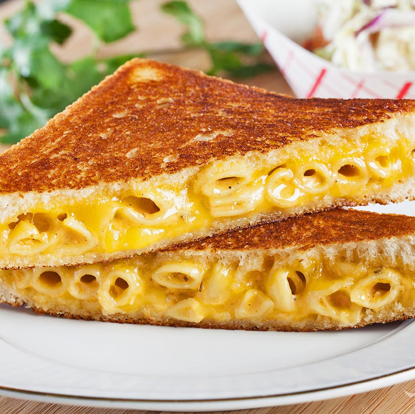 macand cheese grilled cheese