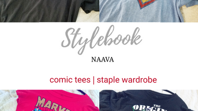 Comic Tees | Staple Wardrobe Item | Naava Stylebook