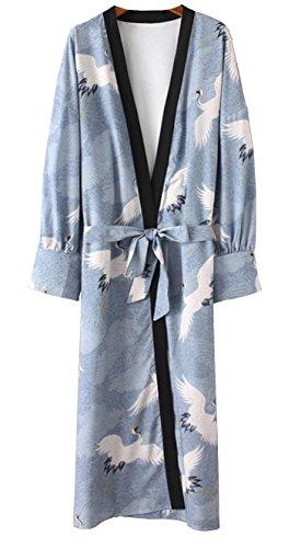 Crain Floral Kimono1