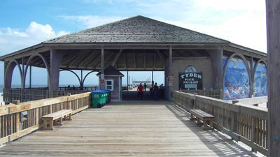 Tybee island Pier Pavillion