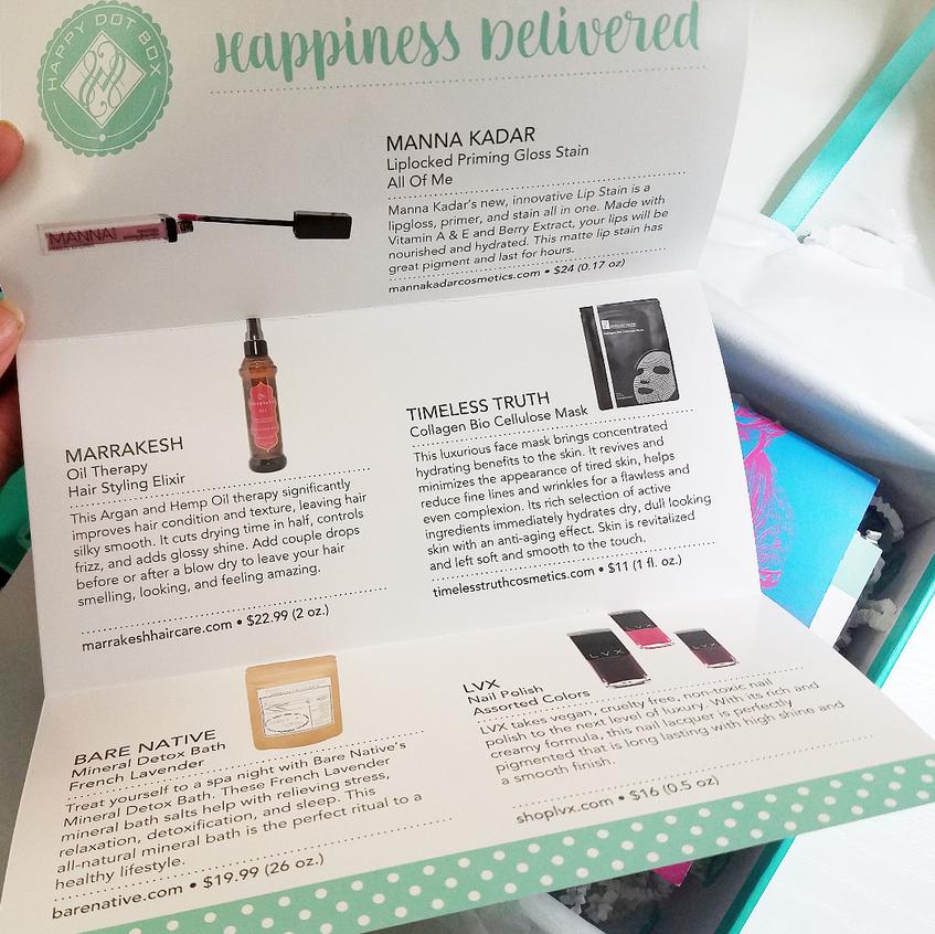 Happy Dot Box List