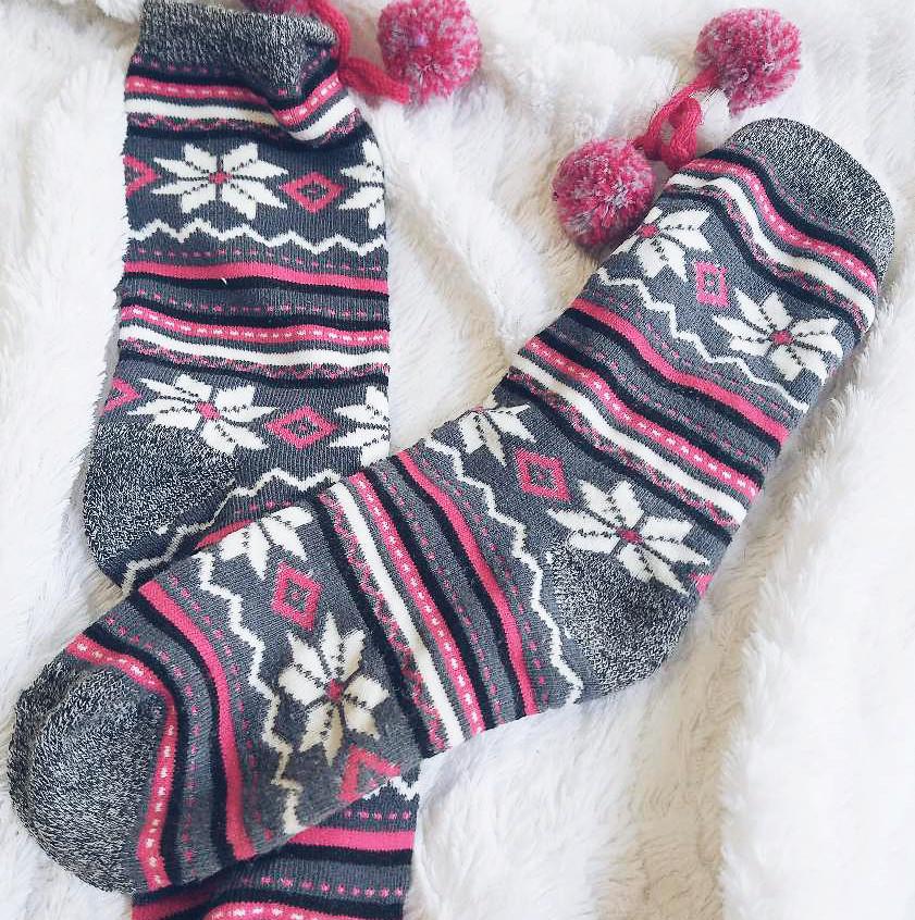 Aztec Cozy Socks