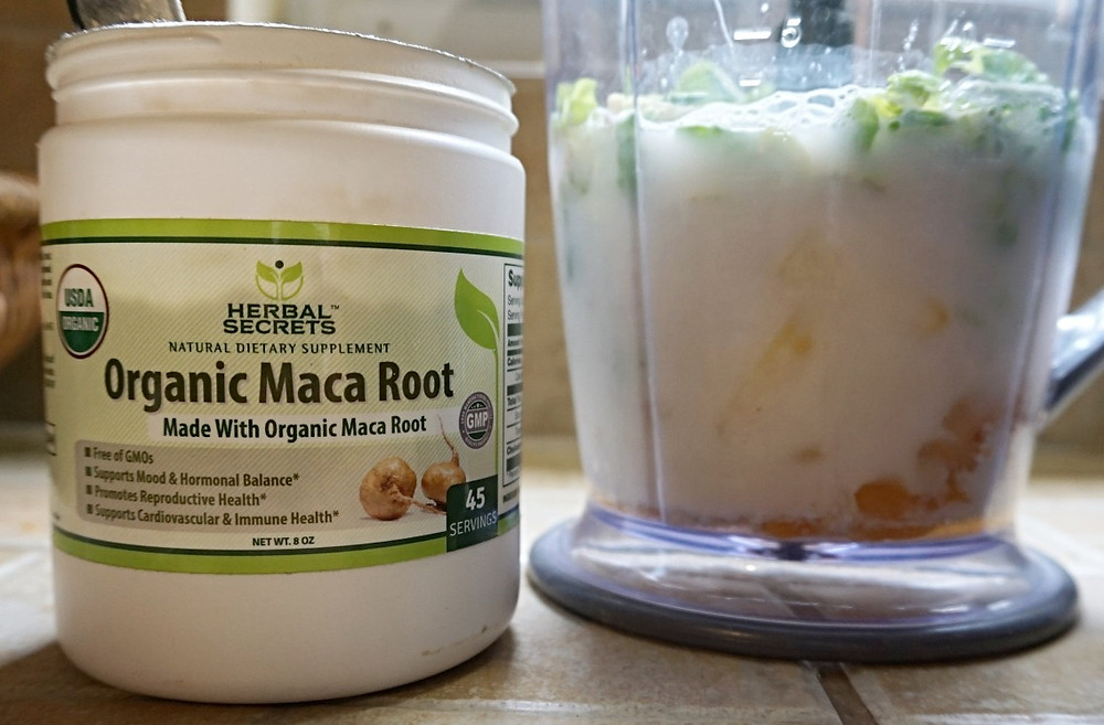Maca for Hormonal Healthy smoothies
