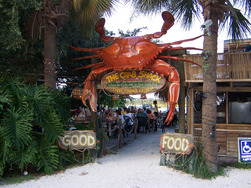 The grab Shack Tybee Island