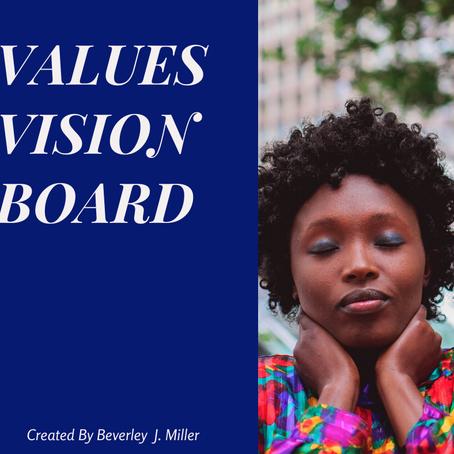 Values Vision Board