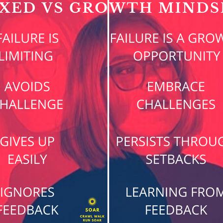 Develop a Growth Mindset (Free PDF Worksheet)