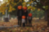 Family Pumpkin Cemetary Goodness - 2018